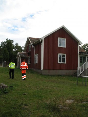 The hostel on Rågö