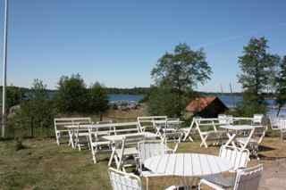 Utsikten från  Rågös restaurangen